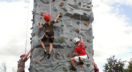 Outdoor Academy Climbing Wall for Mobile Events